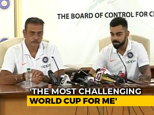 Virat Kohli Addresses Media Ahead Of Team India Leaving For World Cup