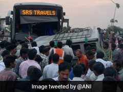 13 Killed, Several Injured After Bus Collides With SUV In Andhra Pradesh