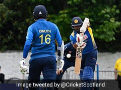 2nd ODI: Captain Dimuth Karunaratne Helps Sri Lanka Snap 8-Match Losing Streak With Scotland Win