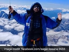 Ghaziabad-Based Mountaineer Scales Mount Everest
