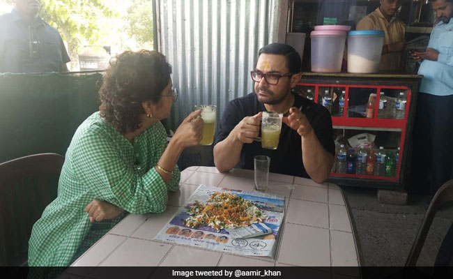 Aamir Khan's Energy Drink For Labour Day Lagaan Is 'Best Ganney-Ka-Juice' With Wife Kiran Rao