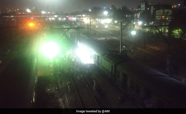 Mumbai Local Train Derails After Short Circuit Sighted, Services Affected