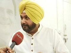 Navjot Sidhu Quits As Punjab Minister, Tweets Letter To Rahul Gandhi