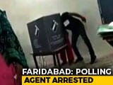 Video : Poll Agent Arrested Over Video Of 'Booth Capture' In Haryana's Faridabad