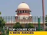Video : Top Court Gets 4 New Judges As Collegium Overrules Centre's Objections