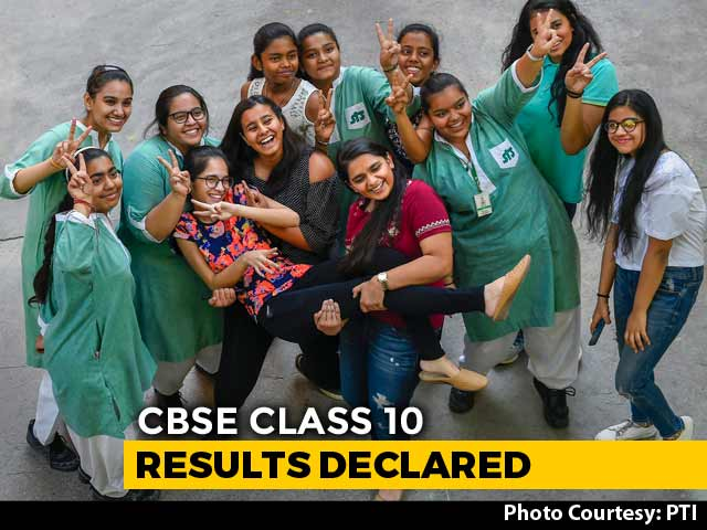 Video : CBSE Declares Class 10 Results, 13 Students Share Top Spot