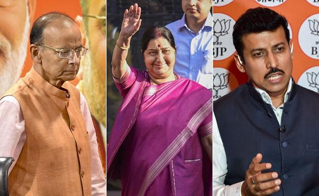 37 Ministers Dropped From Team Modi; Sushma Swaraj Among Big Names