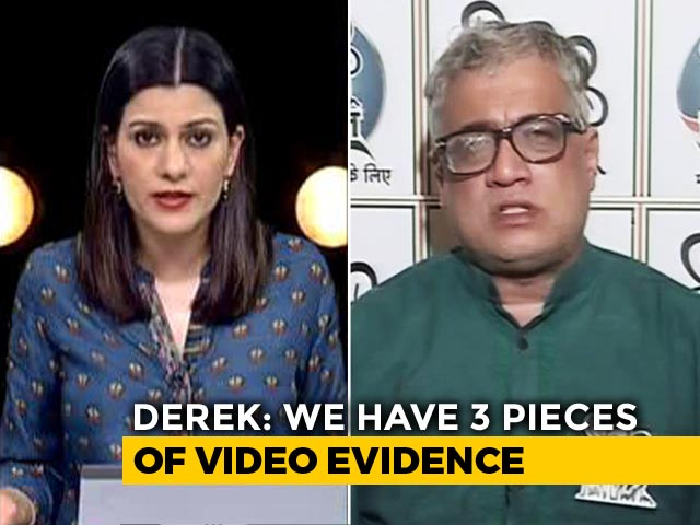 "Video : Amid Battle With BJP Over Kolkata Violence, Trinamool Cites ""Evidence"""