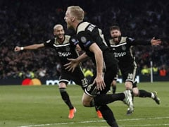 Ajax Beat Tottenham 1-0 In Champions League Semi-Final First Leg