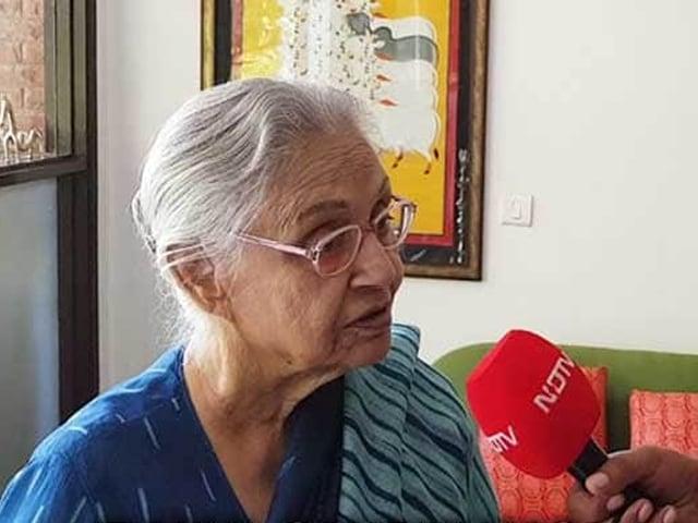 Video : காங்கிரஸின் நிலைப்பாட்டை குறித்து பேசும் ஷீலா திக்ஷித்