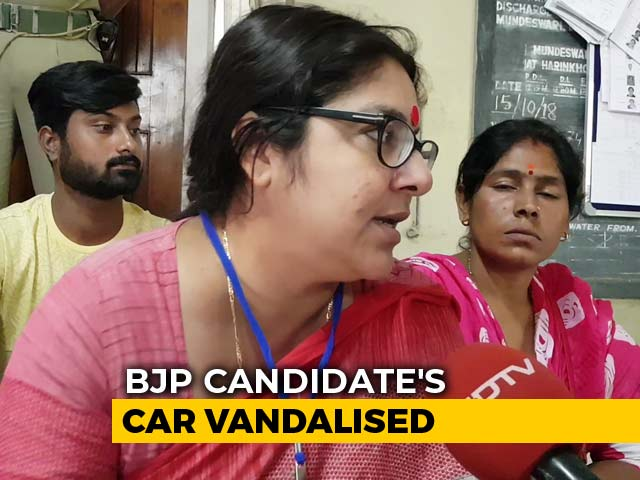 Video : BJP's Locket Chatterjee Claims Vote Rigging In Bengal, Demands Repolling