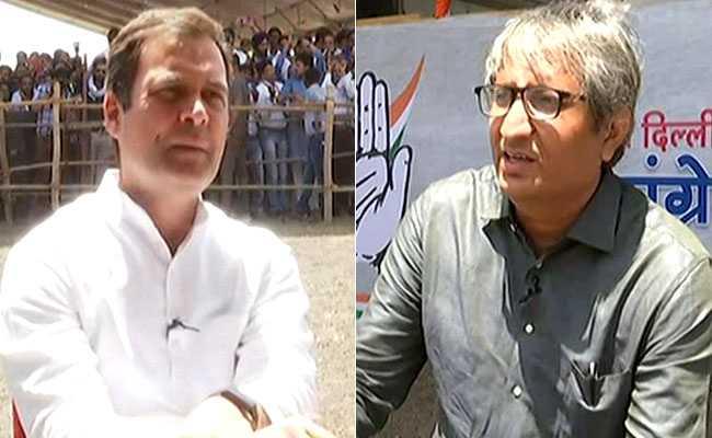 रवीश कुमार से बोले राहुल गांधी, सिर्फ कांग्रेस नहीं, बल्कि देश की जनता की लड़ाई आरएसएस-बीजेपी से