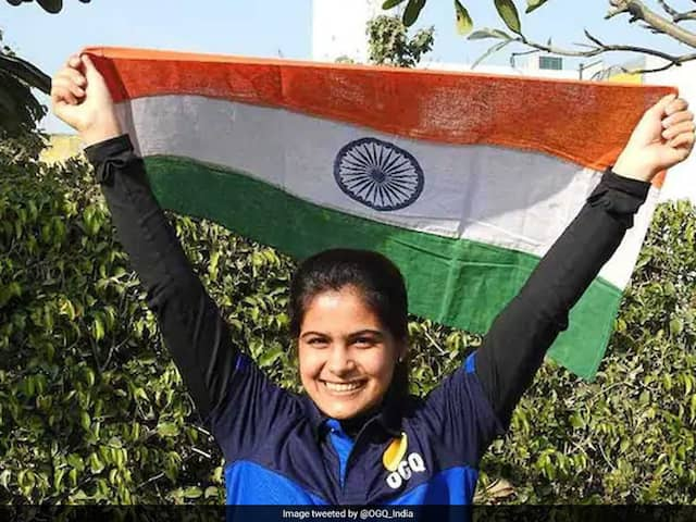 Manu Bhaker Secures Indias 7th Olympic Quota In Shooting, Misses Medal Narrowly