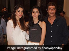 Ananya Panday Skipped University For <I>Student Of The Year 2</I>, Clarifies Dad Chunky Panday