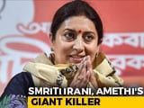 "Video : Smriti Irani, 2019's Star Winner, Tweets ""New Morning For Amethi"""