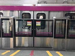 Services On Magenta Line Affected Due To Technical Snag