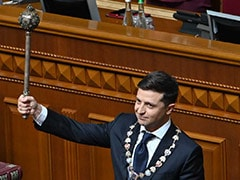 Comedian And Ukraine President Takes Office, Dissolves Parliament