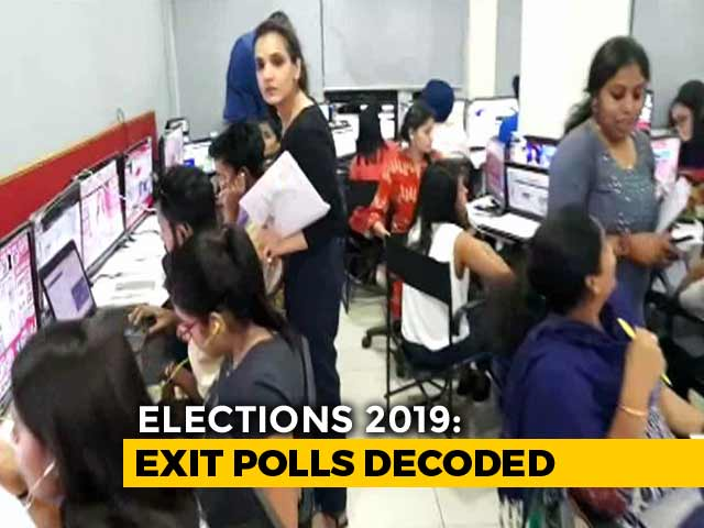 Watch | Inside The Nerve Centre Of NDTV's Poll Of Polls