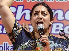 "In J&K, Smriti Irani's Call To Refugees: ""Gupkar Gang Never Let You Vote"""
