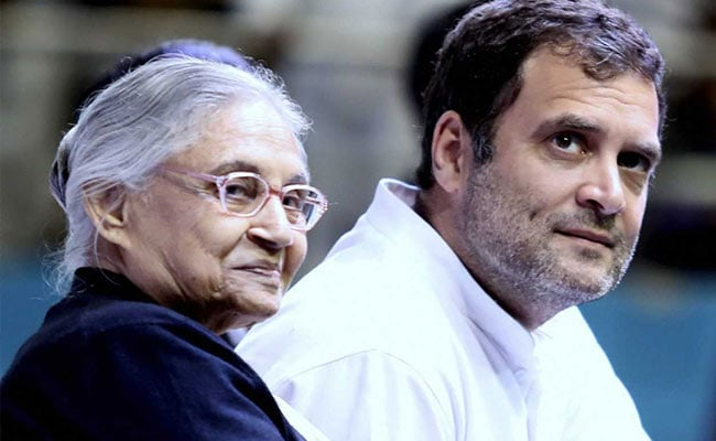 'Devastated': Rahul Gandhi Mourns Congress 'Daughter' Sheila Dikshit