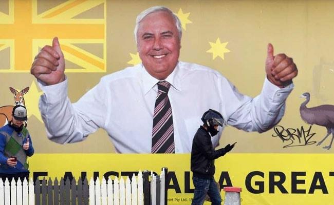 Self-Promoting Australia's Answer To Trump Splashes Cash In Election Bid