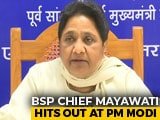 "Video: ""Drama Of Love For Dalits"": Mayawati Hits Back After PM's Alwar Attack"