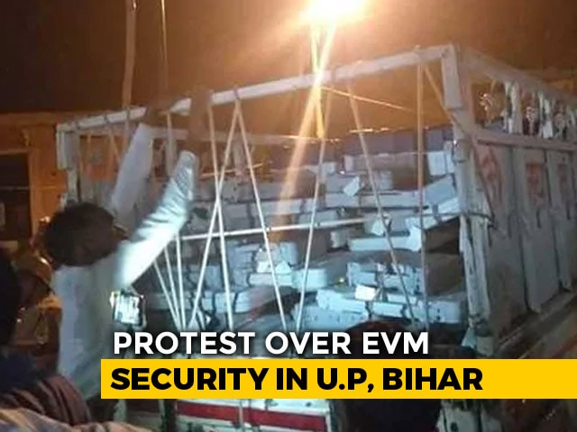 Video : Questions Raised Over Movement Of EVMs In UP, Bihar After Videos Surface