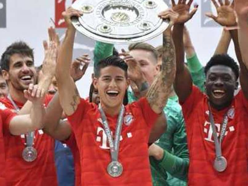 FOOTBALL: Bayern Munich wins German League title seventh consecutive time
