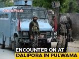 Video : Soldier Killed, 3 Terrorists Shot Dead In Encounter In J&K's Pulwama