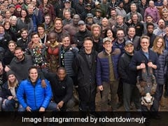 Viral: Robert Downey Jr Posts Epic <i>Avengers</i> Cast And Crew Pic And We Love It 3,000