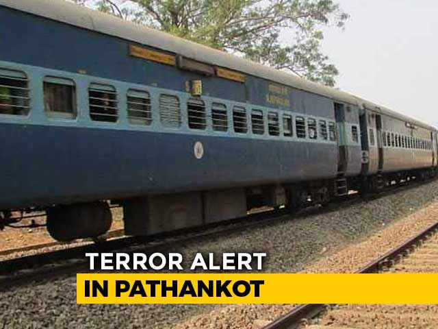 Video : Terror Alert At 2 Pathankot Stations After Intel On Threat From Pak's ISI