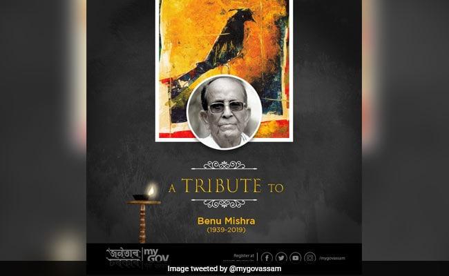 Eminent Artist Benu Mishra, 80, Dies In Guwahati
