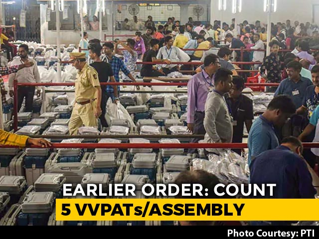 Video : Top Court Rejects Opposition's Request To Increase EVM Paper Trail Count