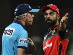 Umpire In Trouble For Allegedly Kicking Door After Row With Virat Kohli