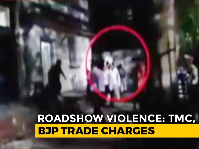 Video : In Bengal Statue Vandalism Whodunit, 'Proof' Flies Between BJP, Trinamool