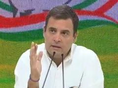 """Make In India, Start-Up India, <i>Pakodas</i>"": Rahul Gandhi Mocks PM"