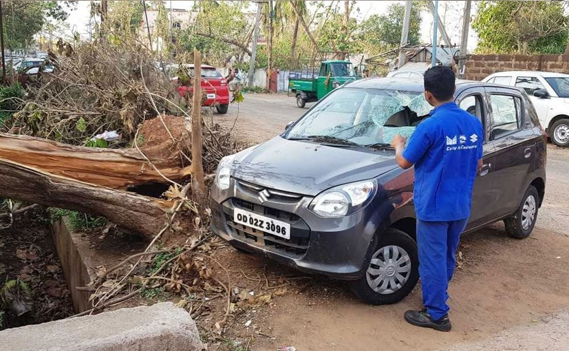 Maruti Suzuki workshops in the affected areas were up and running from next day of cyclone