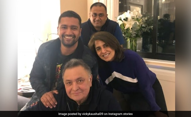 'Can't Beat Rishi Kapoor's Josh': Vicky Kaushal Tells Us From New York