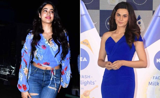 Like Janhvi Kapoor And Taapsee Pannu, Try These 10 Bollywood Celeb Fashion Trends