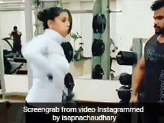 Sapna Choudhary का जिम Video हुआ वायरल, नजर नहीं हटा पा रहे हैं लोग