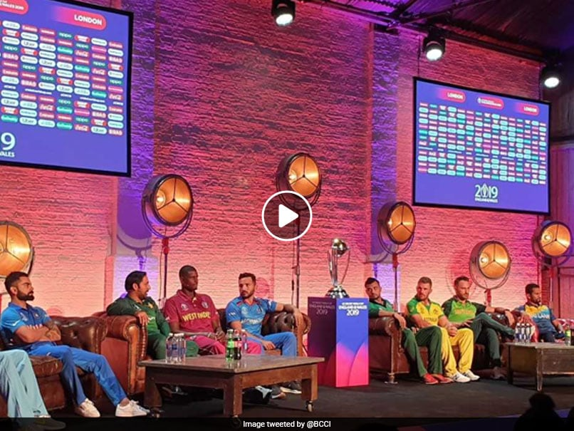 Virat Kohli and All captains together for an interaction, VIDEO