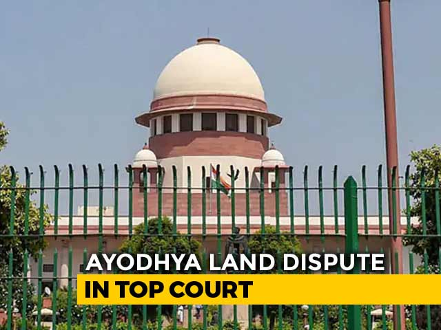 Video : Mediators In Ayodhya Dispute Get Time Till August 15 To Find Solution
