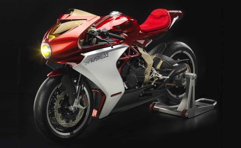 The MV Agusta Superveloce was first showcased at the 2018 EICMA Show