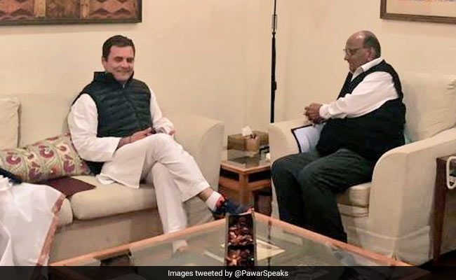 Congress-Sharad Pawar Alliance Gets Extension As Sena, BJP Stick Together