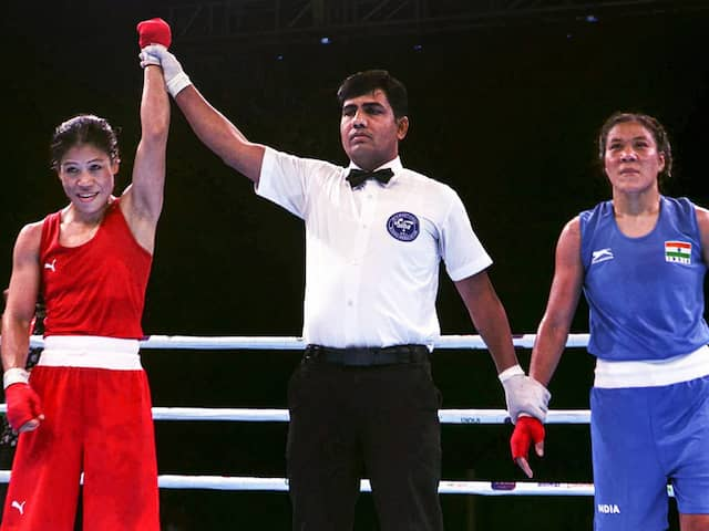 India Open Boxing: Mary Kom, Sarita Devi Lead Hosts Gold Rush On Final Day