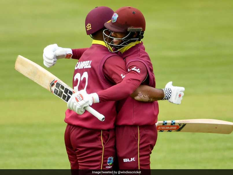 Windies' Shai Hope, John Campbell Record Highest Opening Partnership In ODIs