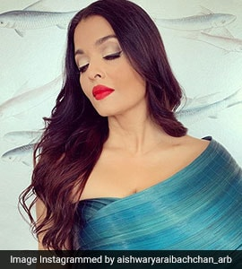 Cannes: Aishwarya In A Burst Of Blue Takes Your Breath Away