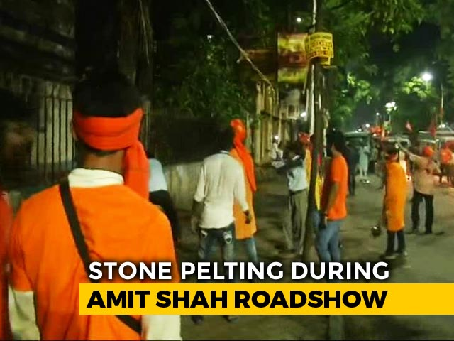 BJP-Trinamool Battle After Iconic Statue Vandalised In Kolkata