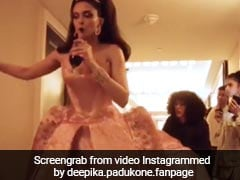 Met Gala 2019: Deepika Padukone Almost Tripped But Held On To Wine Glass Like A Boss