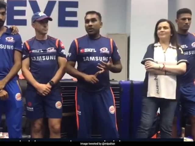 """""""Who Cares About Purple, Orange Cap, We Got Trophy"""": Mahela Jayawardene Rousing Speech After IPL Triumph"""